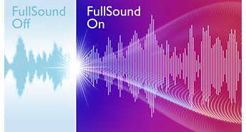 Funkce FullSound