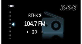 FM tuner s RDS a 30 předvolbami