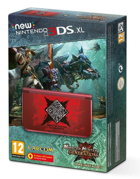 Nintendo NEW 3DS XL Monster Hunter Generations Limited Edition bundle