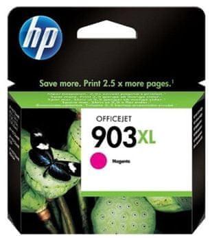HP 903XL purpurová originální inkoustová kazeta s vysokou výtěžností (T6M07AE)