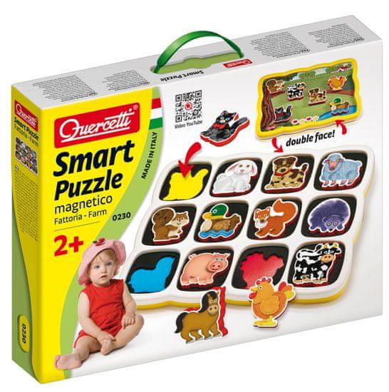 Quercetti Magnetyczna Układanka Puzzle Farma