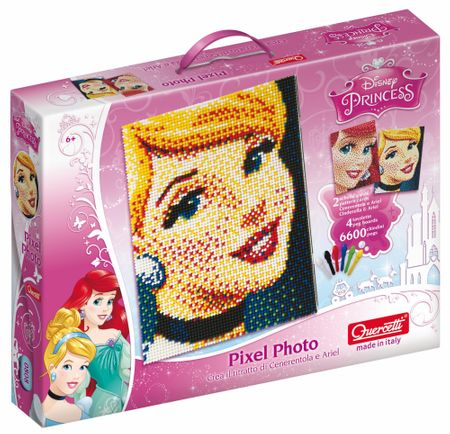 Quercetti Mozaika Pixel Photo Księżniczki