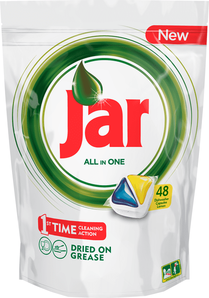 Jar kapsle Yellow 48 ks