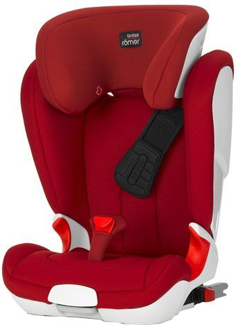 Römer KidFix II XP 2017, Flame Red