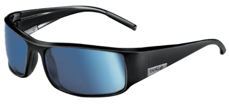 Bollé sončna očala King Shiny Black Polarized Offshore Blue