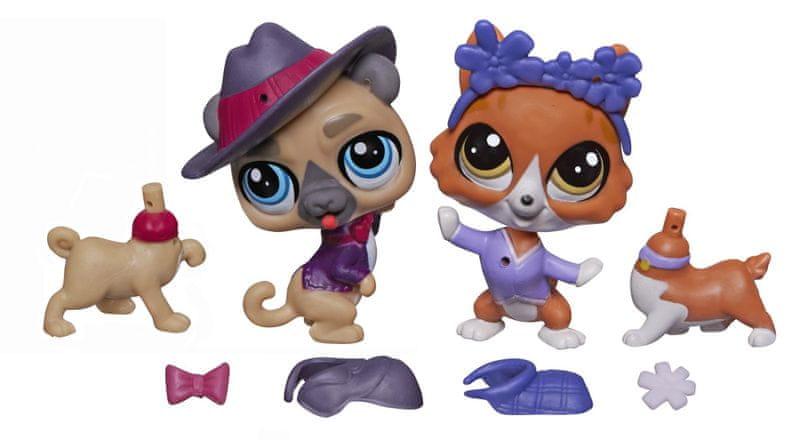 Littlest Pet Shop Módní páry zvířátek Buster a Wagger