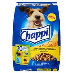Chappi sucha karma dla psa, z drobiem i warzywmi - 9 kg