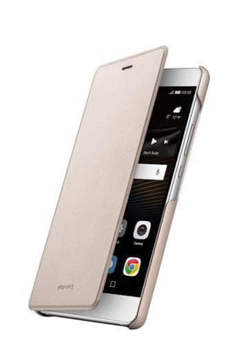 Huawei Flipové pouzdro, Huawei P9 Lite, zlaté