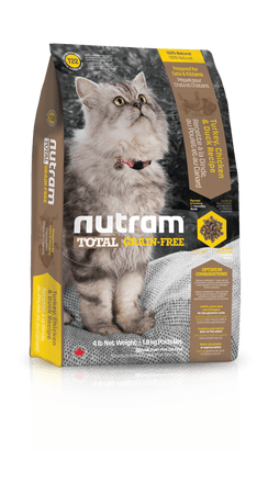 Nutram Total Grain Free Turkey, Chicken & Duck Cat  6,8kg