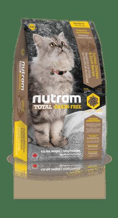 Nutram hrana za mačke Total Grain Free, puran, piščanec in raca, 1,8 kg