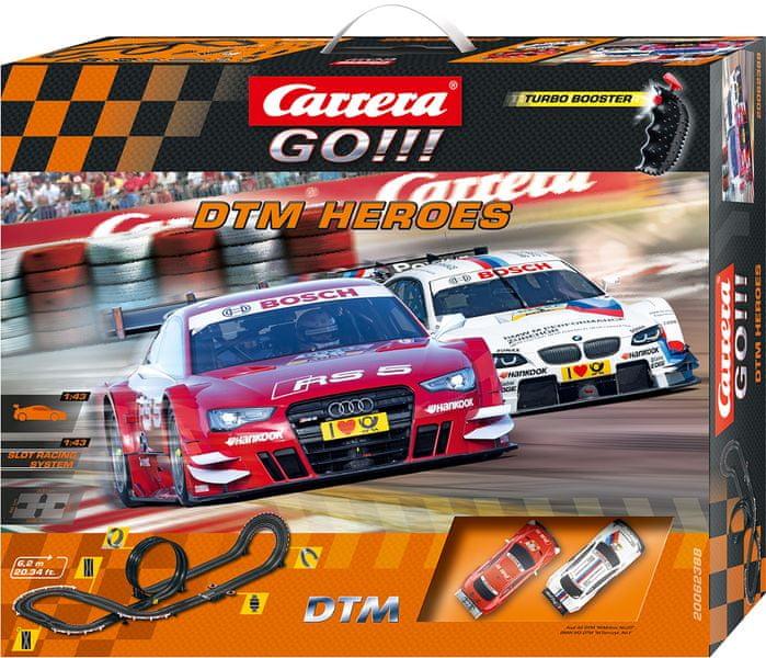 Carrera Autodráha GO DTM Heroes
