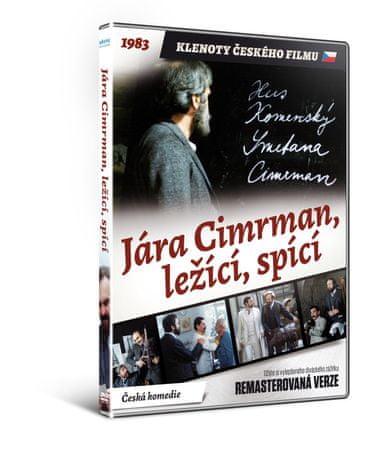 Jára Cimrman, ležící, spící   - edice KLENOTY ČESKÉHO FILMU (remasterovaná verze) - DVD