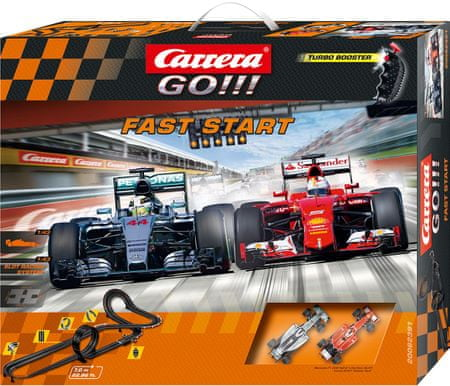 CARRERA Tor wyścigowy GO Fast start