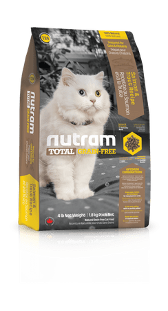 Nutram hrana za mačke Total Grain Free, losos in postrv, 6,8 kg