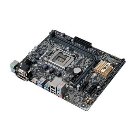 Asus osnovna plošča H110M-Plus, LGA1151 mATX