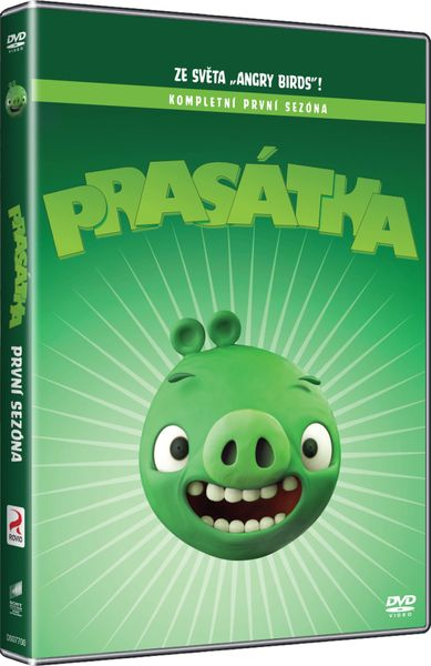 Angry Birds: Prasátka (1. série) - DVD