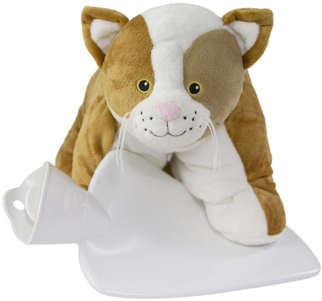 Hugo Frosch Dětský termofor Classic s polštářkem - kočka