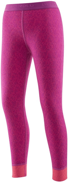 Devold Active Happy Hearts Kid Long Johns Orchid 6