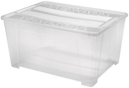 Heidrun TEX BOX 8 (7215) Tároló+tető 150L 78,5x58,8x40,5 cm