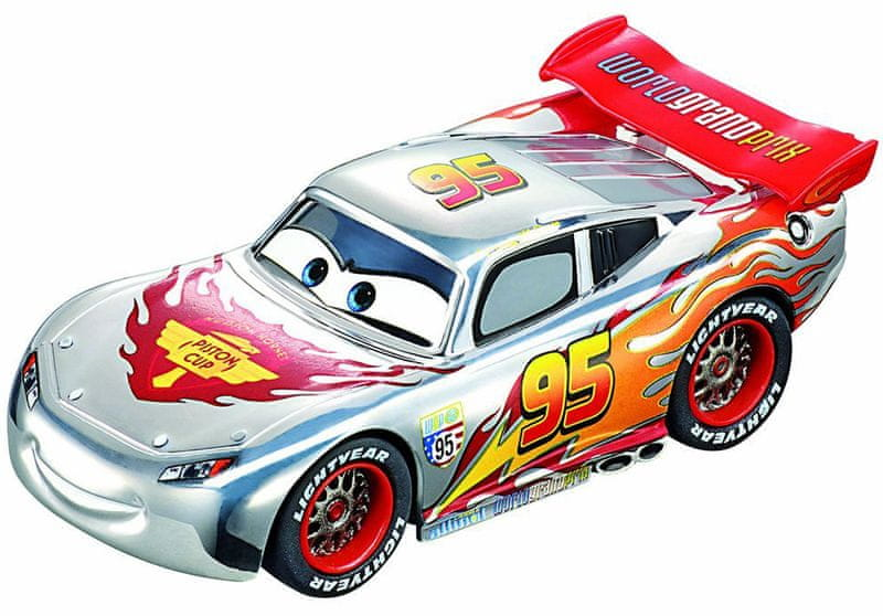 Carrera Disney Cars 2 Silver Lightning McQueen