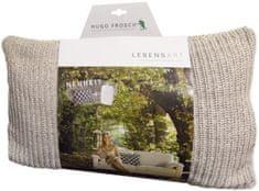 Hugo Frosch Designový polštář Sylt z organické bavlny s Eco termoforem