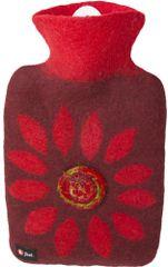 Hugo Frosch termofor Classic z wełny merynosa - czerwony