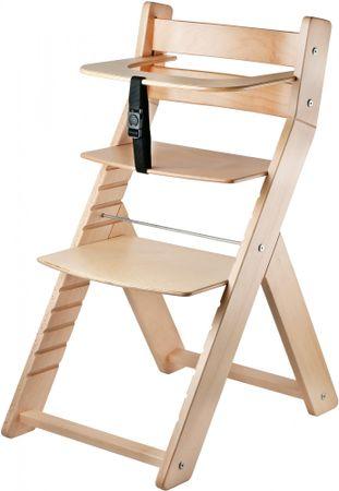 Wood Partner Detská rastúca stolička LUCA natur/natur