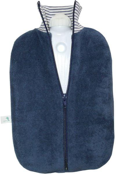 Hugo Frosch Termofor Eco Classic Comfort bio bavlna, modrý