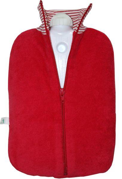 Hugo Frosch Termofor Eco Classic Comfort bio bavlna, červený