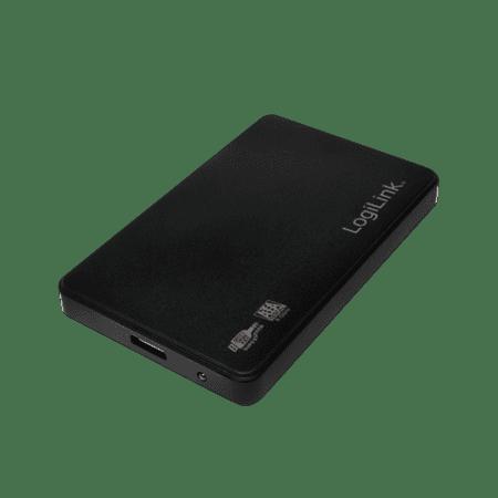"""LogiLink zunanje ohišje HDD 6,35 cm (2,5"""") USB 3.0 SATA, UA0256, črno"""