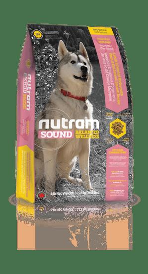 Nutram karma sucha dla dorosłych psów Sound Adult Dog Lamb, 2,72 kg