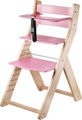 Wood Partner Detská rastúca stolička LUCA natur