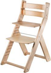 Wood Partner Detská rastúca stolička SANDY