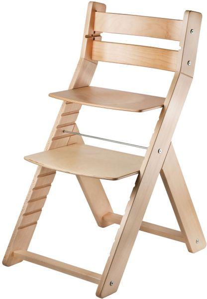 Wood Partner Dětská rostoucí židle SANDY natur/natur