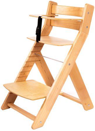 Wood Partner Dětská rostoucí židle UNIZE natur/natur