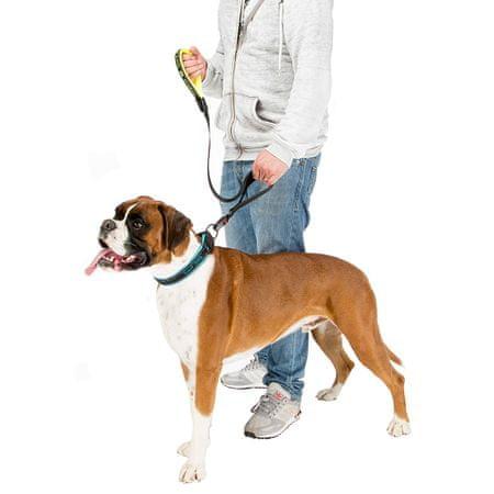 Ferplast povodec Sport Dog Matic G25/120, rumen