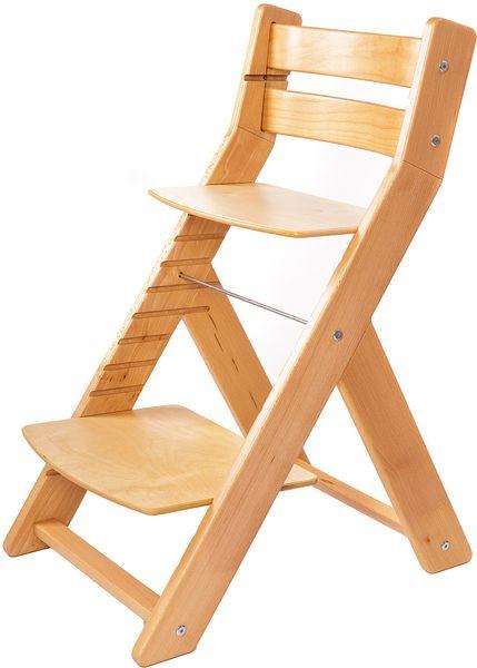 Wood Partner Dětská rostoucí židle MONY natur/natur