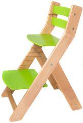 Wood Partner Dětská rostoucí židle MONY natur