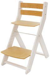 Wood Partner Detská rastúca stolička MONY biela