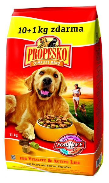 Propesko granule pes Vitality 10+1 kg