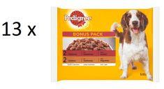Pedigree saszetki dla psa z wołowiną i drobiem 13 x (4 x 100 g)