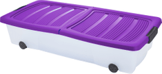 KAISERHOFF Pojízdný úložný box s víkem 32 l
