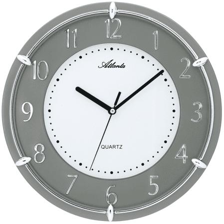 Atlanta Designové nástěnné hodiny 4252