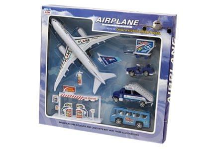 Unikatoy mali set vozila in letalo (24691)