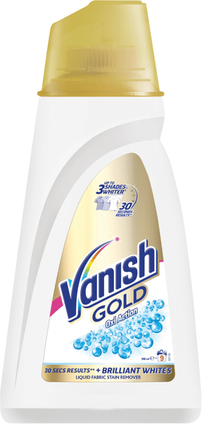 Vanish Oxi Action Gold Bílý 940 ml