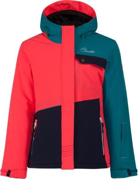 Dare 2b Craze Jacket Enamel Blue/Neon Pink/Peacoat Blue 3-4 (104)