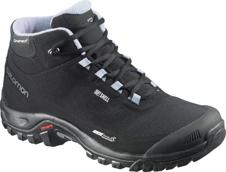 Salomon Shelter CS WP W Black/Black/Stone Blue 39.3