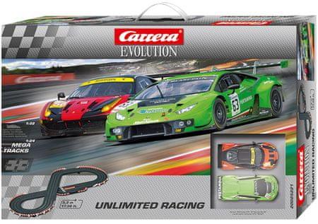 CARRERA tor wyścigowy EVO Unlimited Racing