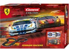 CARRERA Tor wyścigowy EVO Ferrari Racers