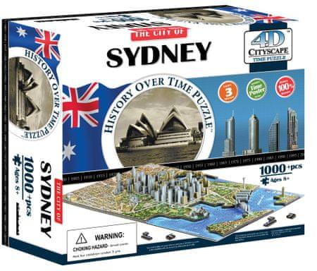 4D Cityscape Puzzle 4D Cityscape Sydney